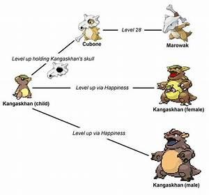 Kangaskhan is Cubone's mother | Pokémon Amino