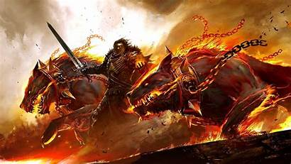 Wallpapers Beasts Fire Wars Guild