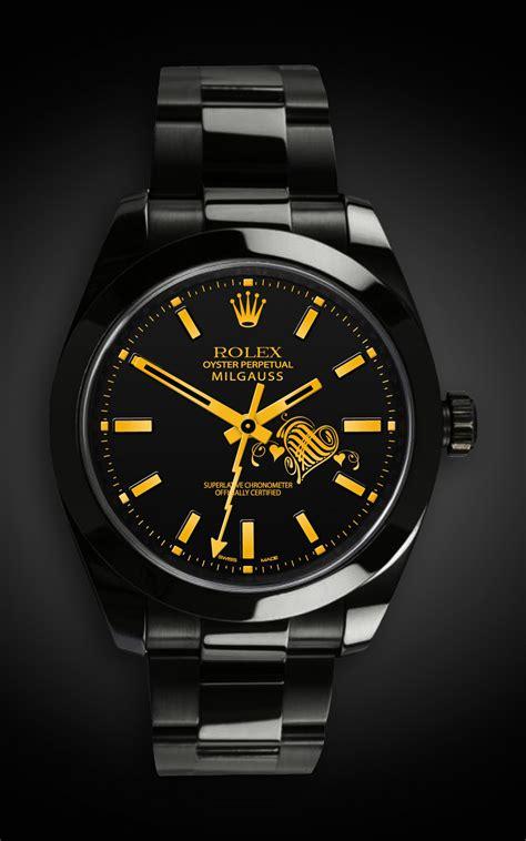 Rolex Milgauss: Valentines Day Edition | Titan Black