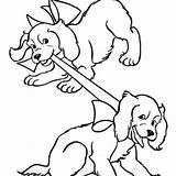 Dog Drawing Bark Barking Coloring Loud Getdrawings sketch template