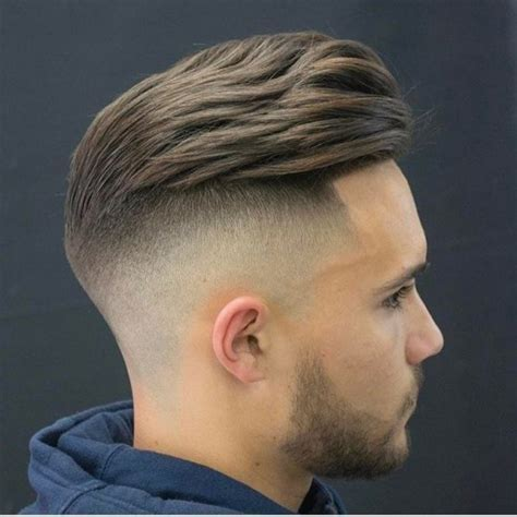 Men's Classic Blonde Side Part on a Regular Cut with