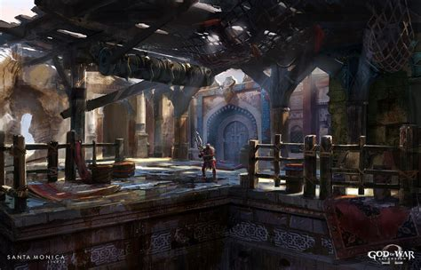 God Of War Ascension Concept Art By Luke Berliner