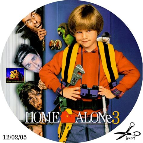 Home Alone 3  Custom Dvd Labels  Home Alone 3  Dvd Covers