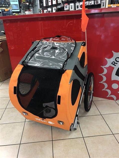 carrello porta cani per bici carrello per cani porta per bici max 40kg negozio