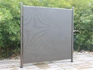 Sichtschutz 100 Cm Hoch : poly rattan sichtschutz zaun einzelelement 180cm anthrazit von prime tech 4260206584285 ebay ~ Bigdaddyawards.com Haus und Dekorationen