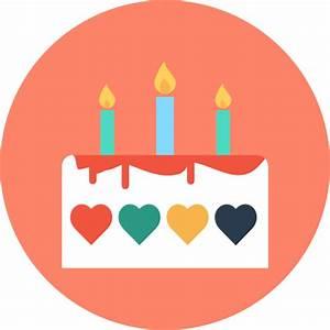 Birthday cake - Free food icons