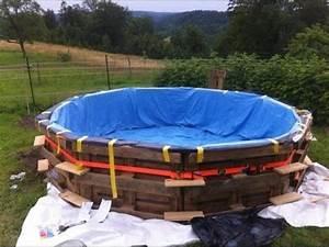 Pool Aus Holz : pool selber bauen pool selber bauen holz pool selber bauen einfach youtube ~ Frokenaadalensverden.com Haus und Dekorationen