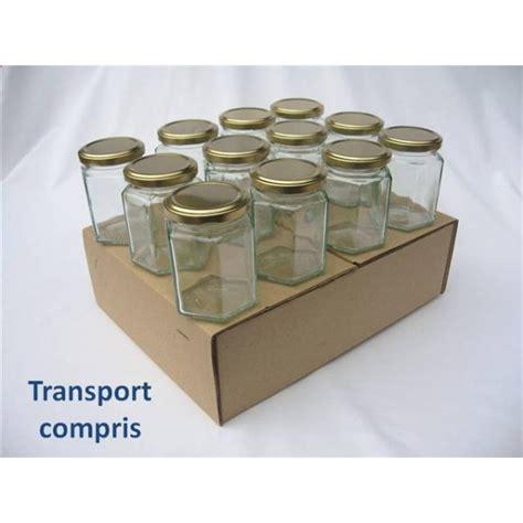 pots hexagonaux 283 ml couvercle au choix findapack