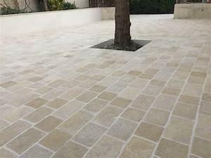 Carrelage Clipsable Exterieur : pose de pave exterieur 9 terrasse en pav233s de ~ Premium-room.com Idées de Décoration