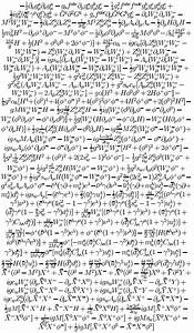 What Is The Longest Equation Known