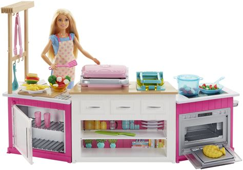 Cook Up Culinary Creations With Barbie Ultimate Kitchen