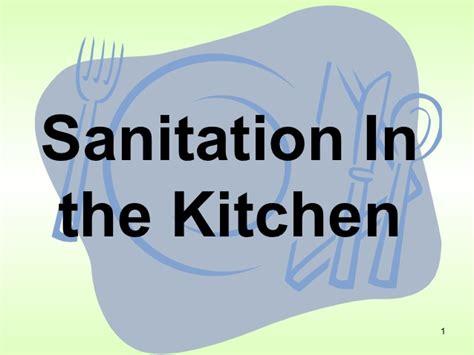 kitchen sanitation  safety lessons tes teach