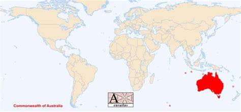 Carte Geographique Du Monde Australie by Carte Du Monde Australie Voyages Cartes