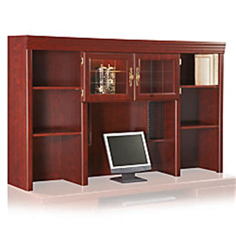 Sauder Heritage Hill Credenza - sauder heritage hill hutch for credenza 41 18 h x 65 12 w