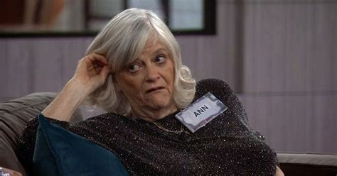 celebrity big brother ann widdecombe has major fall out