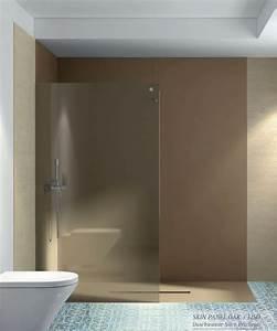 Duschtür 80 Cm : duschr ckwand ohne fugen 240x90 cm aus 7 mm mineralguss ~ Orissabook.com Haus und Dekorationen