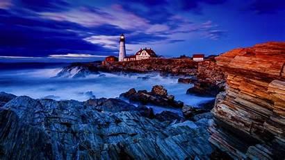 Lighthouse Wallpapers Lighthouses Desktop Ocean Background Wallpapersafari