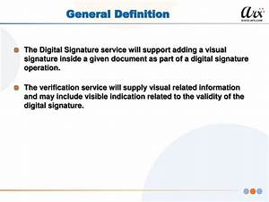 ppt visual signature profile oasis dss x powerpoint With general documents definition