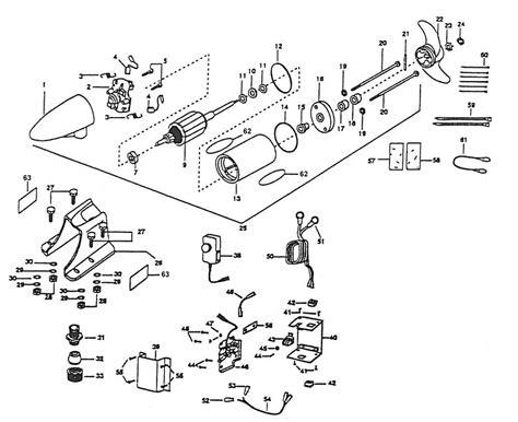 Minn Kota Engine Mount Parts From Fish