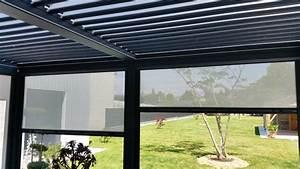 Pergola Adossée 4x4 : pergola aluminium blanc toit polycarbonate 32mm translucide l6500xa4000 adoss e ebay ~ Melissatoandfro.com Idées de Décoration