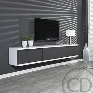 Banc Tv Suspendu : meubles design suspendus ~ Teatrodelosmanantiales.com Idées de Décoration
