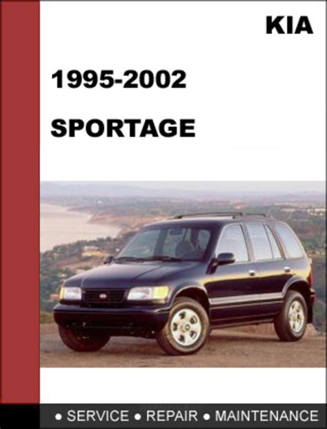 car service manuals pdf 2002 kia sportage lane departure warning kia sportage 1995 2002 oem service repair manual download downloa