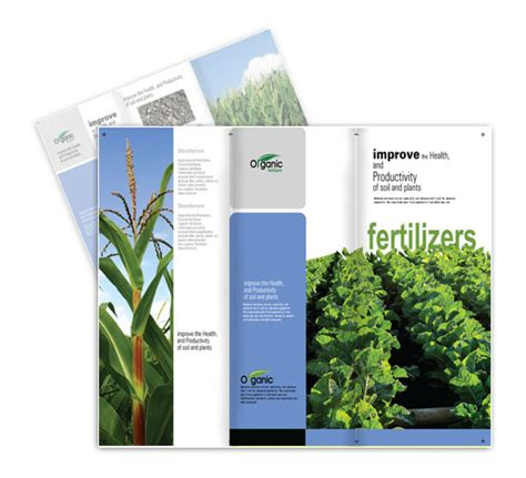 Agriculture Brochure Templates Free Agriculture Brochure Templates Csoforum Info
