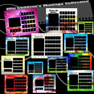 elementary school class photo templates preschool With photo composite template