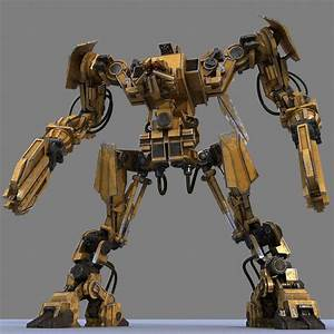 3d Model Robot Bot