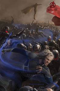 Avengers Age of Ultron poster - Quicksilver - blackfilm ...
