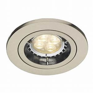 Apache double insulated recessed down light for led or low