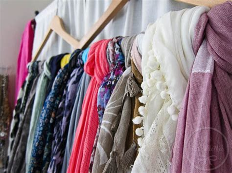 How To Organize Scarves In Your Closet by 15 Simple Ways To Organize Scarves