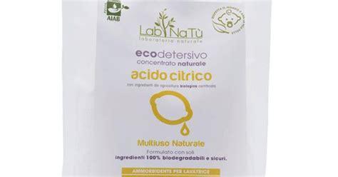 acido citrico negli alimenti acido citrico