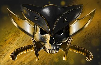 Pirate Skull Guns Jolly Roger Knives Hat