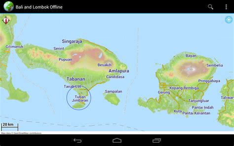 offline map bali lombok android apps  google play