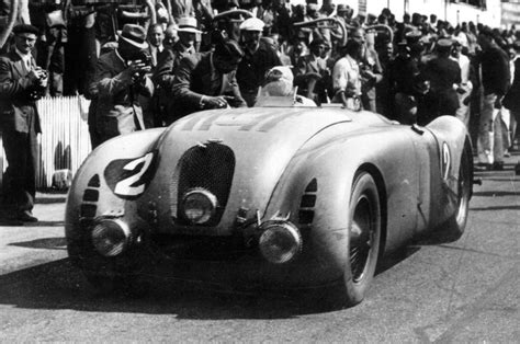 1937 Bugatti Type 57g Tank Racer Front View Photo 03