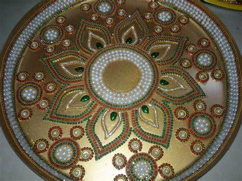 pooja ki thali decoration  diwali pooja thali aarti