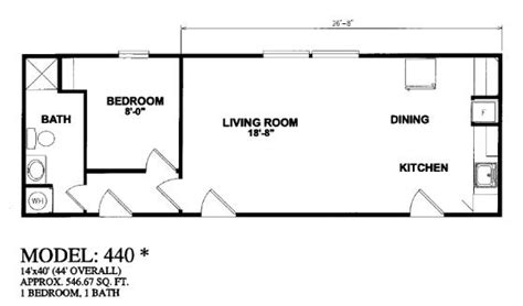 14x40 Mobile Home Floor Plans by 14x40 Cabin Floor Plans Quotes