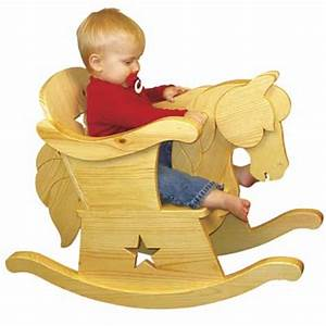 Plan-Infant Rocking Horse Chair