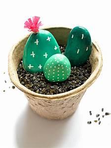 Faire Soi Meme Bricolage : des galets cactus en pots ~ Premium-room.com Idées de Décoration