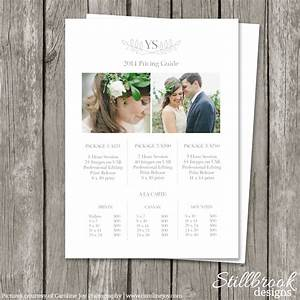 modern photography price list template deals infoparrot With wedding photography packages pdf