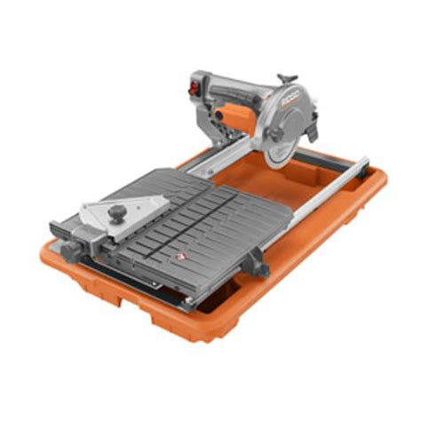 ridgid introduces most affordable pro wet tile saw tool