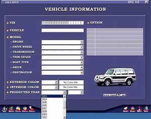 Hyundai Galloper  Santamo  Innovation Parts Catalog Order