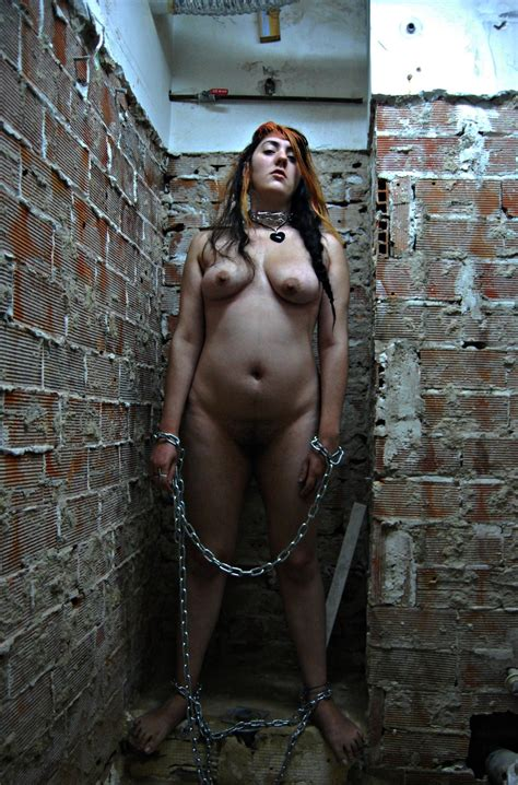 Bdsm Slave Girl Chained