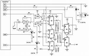 Computer Controlled Frequency Counter  Logic Probe Circuit