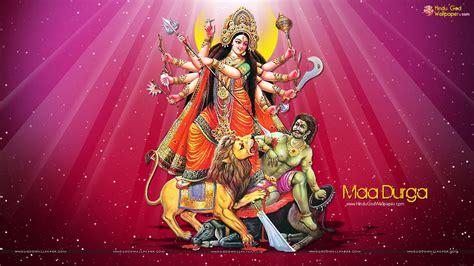 Maa Durga Animated Wallpaper For Desktop - maa durga tapeter downloadwallpaper org