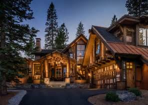 cabin style home mountain cabin overflowing with rustic character and handcrafted