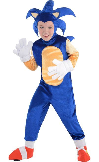 Sonic the Hedgehog Halloween Costume for Kids   Party City