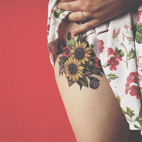 amazing sunflower tattoo ideas  creative juice
