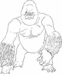 Godzilla Vs Muto Coloring Pages Coloring Pages